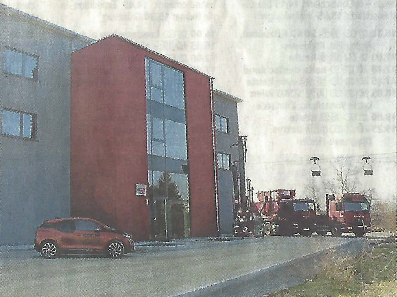 Neues Firmengebäude von Christian Koch Erdwärmebohrungen